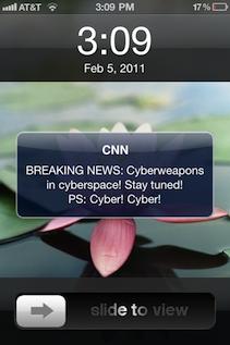 Cyber-push